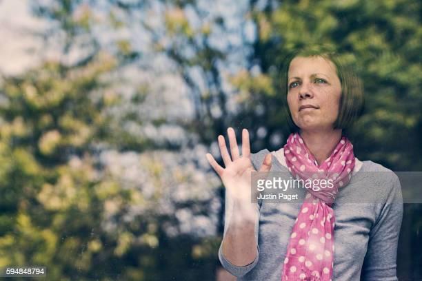 Woman Waiting in Window