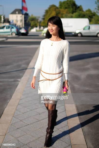 Femme marchant-XL