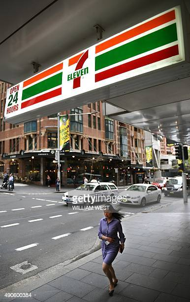 A woman walks past a 7Eleven convenience store in Sydney's central business district on September 30 2015The chairman and chief executive of 7Eleven...