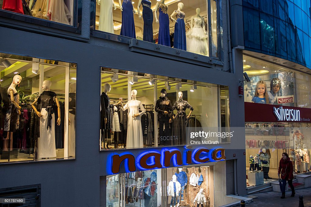 woman-walks-past-shops-in-the-famous-nisantasi-shopping-district-on-picture-id501757450