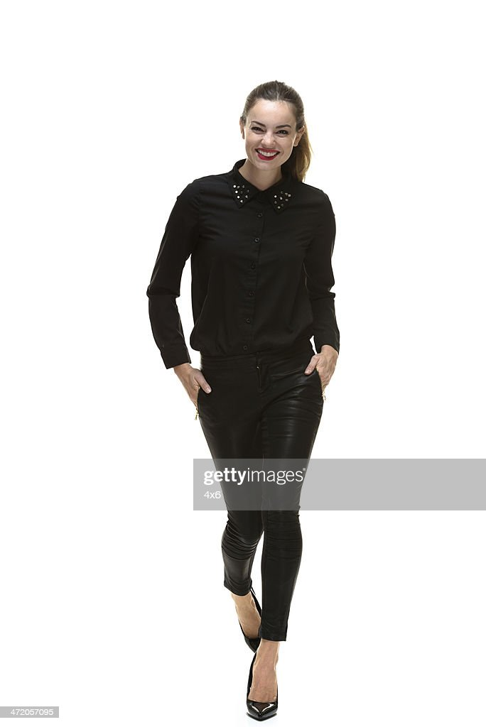 wearing black clothes walking stock photo getty images