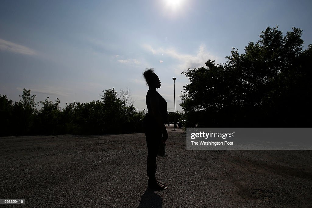 A woman who says she was raped by a Harvey police officer in August of 2015 poses for a portrait June 13 2016 in Harvey Illinois The Harvey Police...