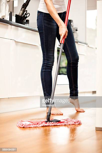 Mopping The Floor Stock Photos And Pictures Getty Images