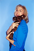 Woman with a Chihuahua