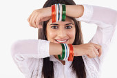 Woman with bangles