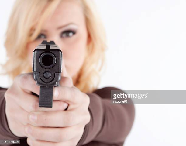 Woman with concealed permit