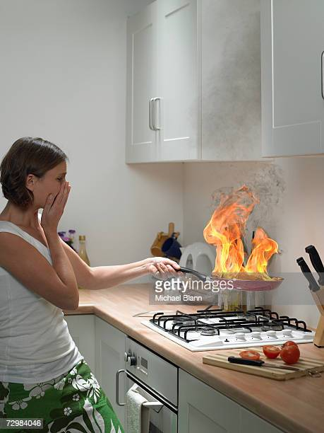 Kitchen Accidents Stock Photos And Pictures Getty Images