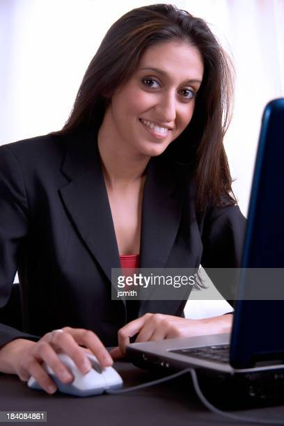 Woman with Laptop 2