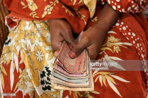 Woman with Loan Money