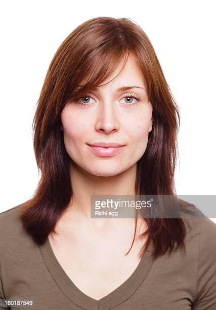 Woman with No Makeup