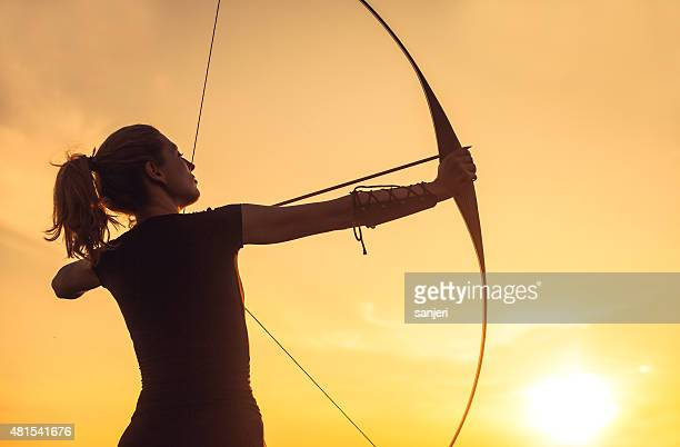 Woman with the longbow