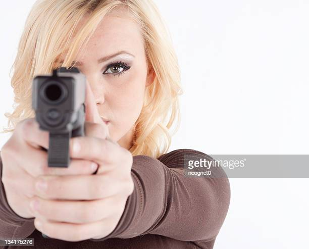 Woman withgun