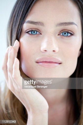 Woman's beauty attitude : ストックフォト