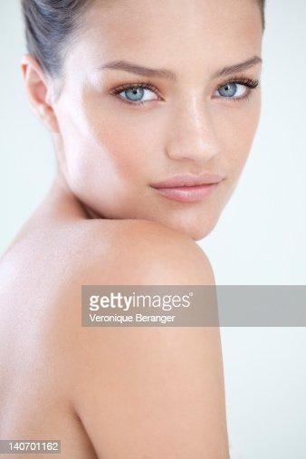 Woman's beauty portrait
