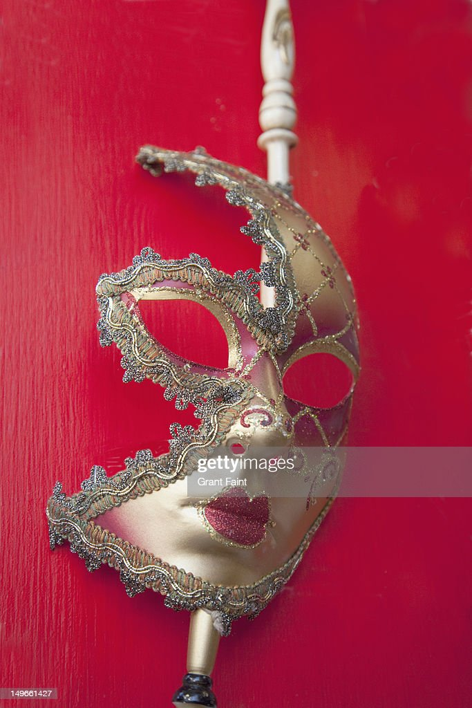 Woman's carnival mask, Venice