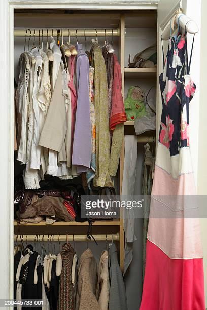Woman's closet, closet