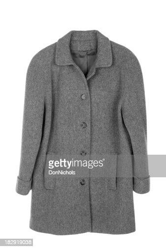 Woman's Coat Isolated