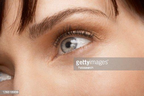 Woman's eye (close-up)