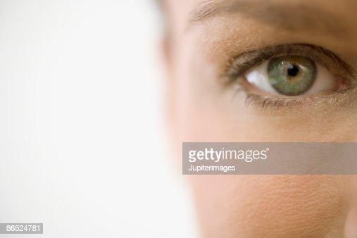 Woman's eye : Stock Photo