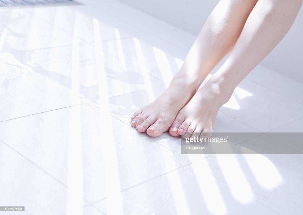 Woman's legs : Photo