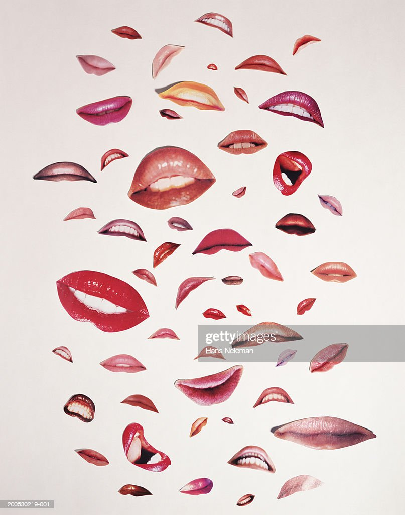 Woman's mouth (Composite) : Stock Photo