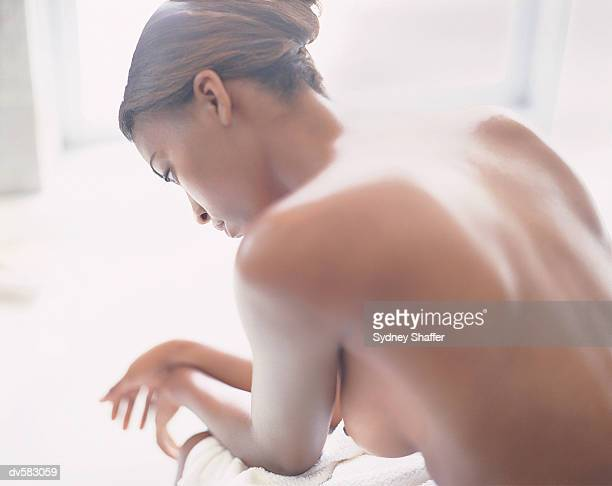 Woman's Naked Back