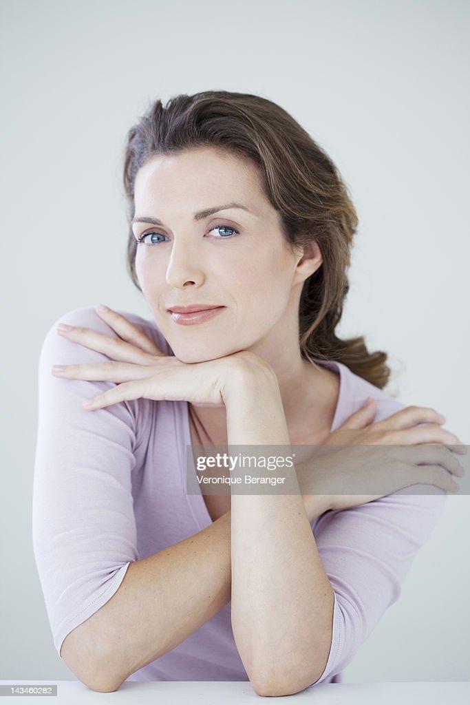 Woman's portrait : Stock Photo