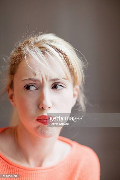Woman's portrait with expression