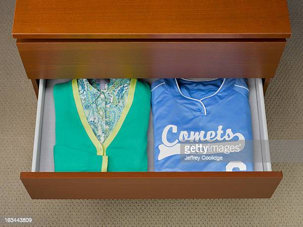 Woman's Shirts in Drawer