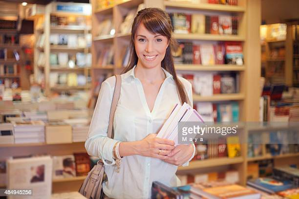 Women at bookstore