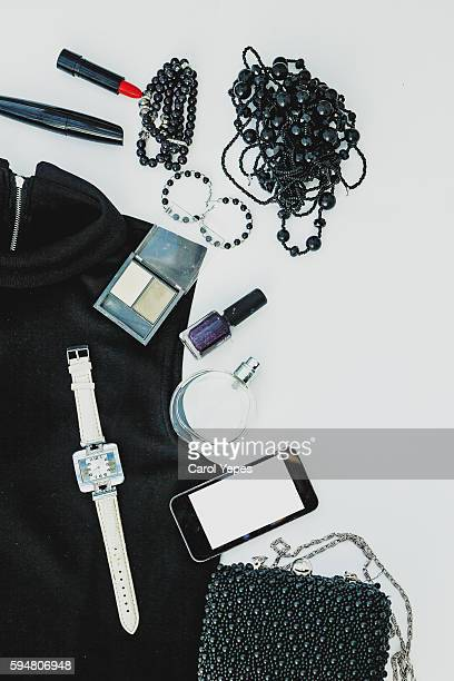 women clothes and accesories. Black and white