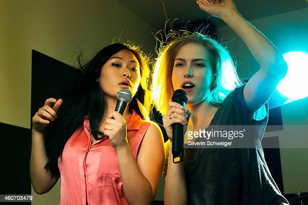 Women dancing and singing