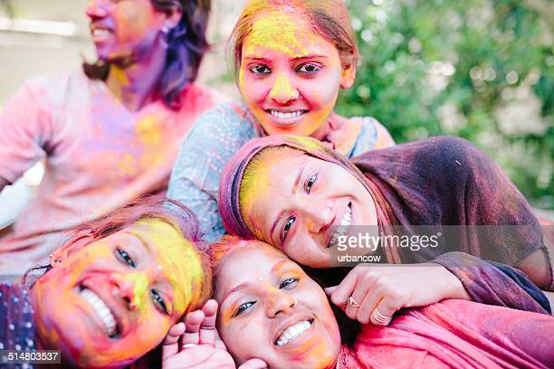 Women during Holi, Jaipur
