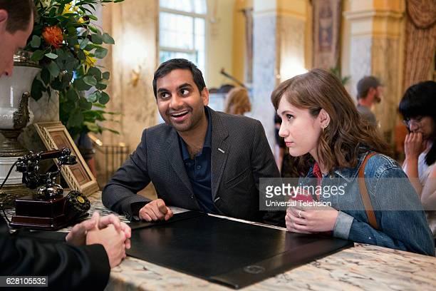 NONE 'Women' Episode 106 Pictured Aziz Ansari as Dev Noël Wells as Rachel