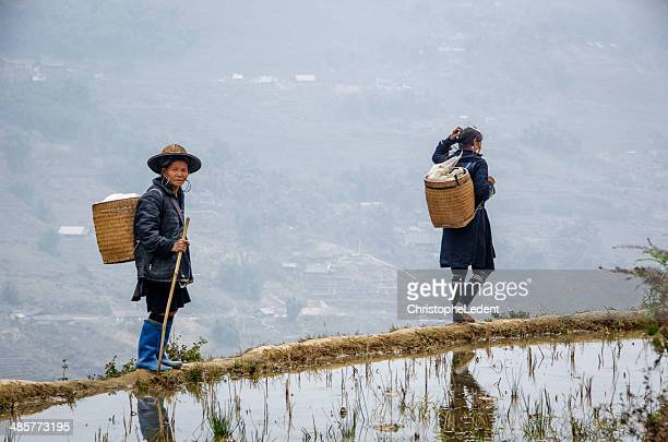 Women from the Black Hmong Tribe