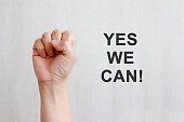 YES WE CAN, Women Girl Power.