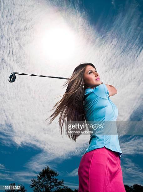 De femmes golfeur