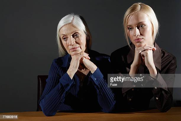 Women Grieving