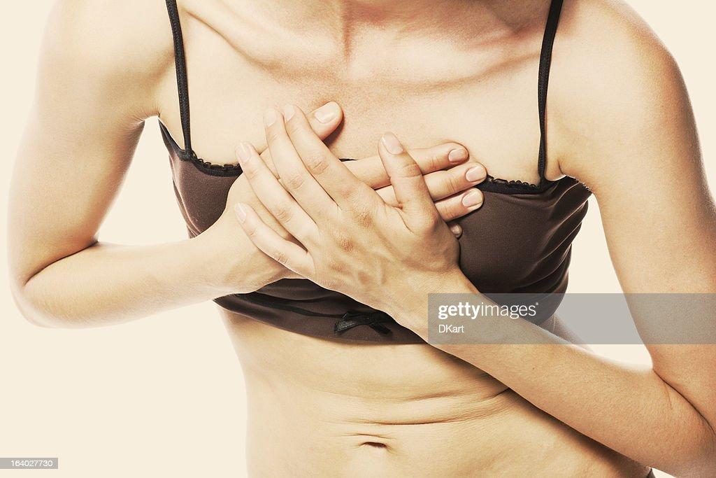 women having a heart attack