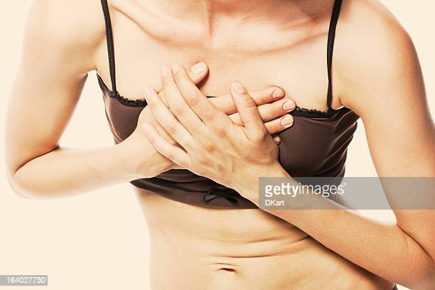women having a heart attack