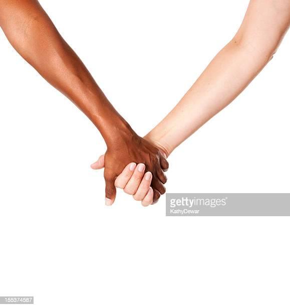 Donna tiene le mani