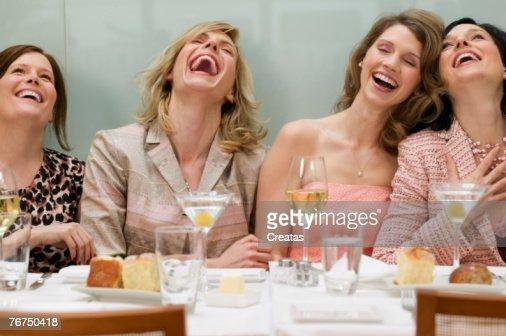 Women in a restaurant : Stock Photo