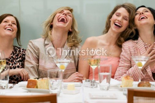 Women in a restaurant : Stock Photo