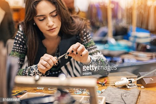 Women in arts and crafts