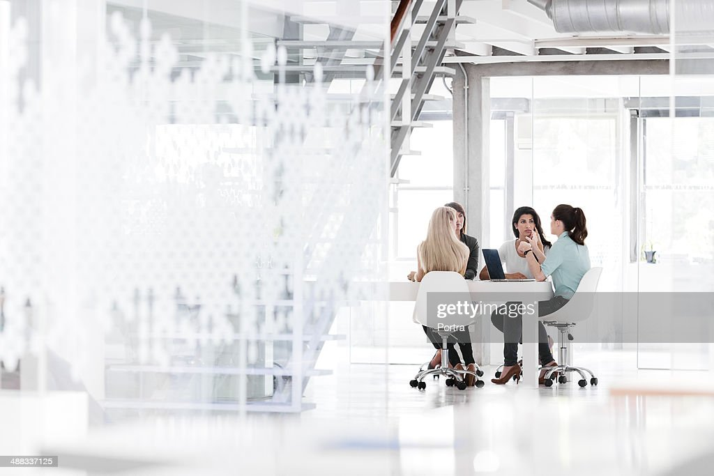 Women in business having a meeting in the office
