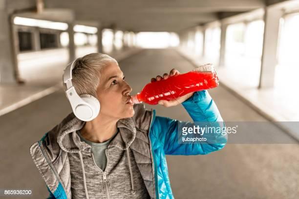 Women in Sport, Hydrating is very important