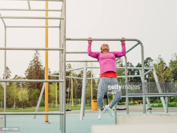 Women in Sport professional personal trainer working out