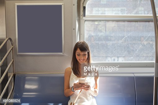 Women in subway