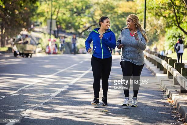 Frauen Joggen im Central Park, New York