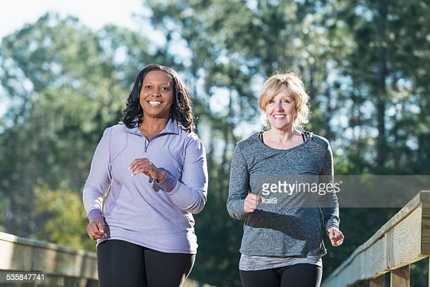 Frauen Joggen